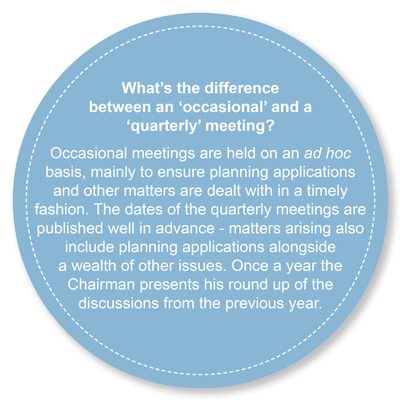 Quarterly versus Occasional Meetings