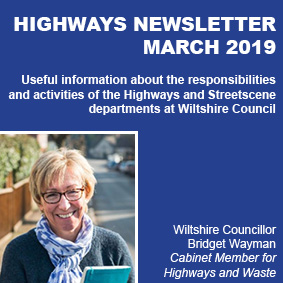 Wiltshire Council Highways Newsletter - March 2019